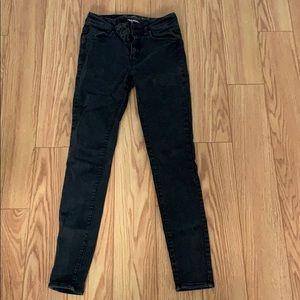 Black/ grey wash jeans